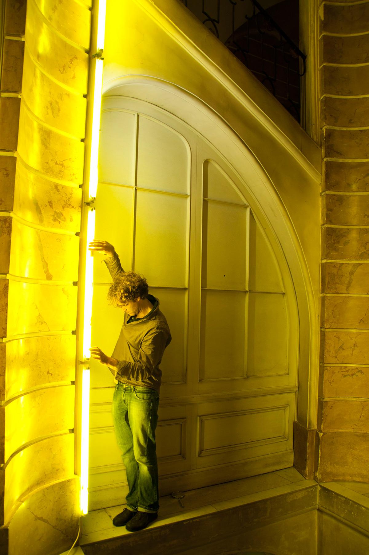 Prototypenbau Lichtinstallation Treppenhaus Neues Palais