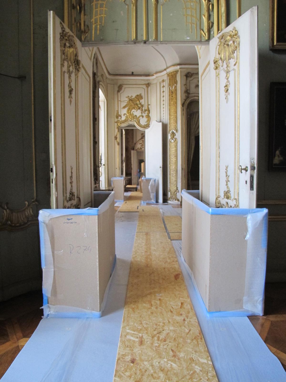 Schutzmaßnahmen Ausstellungsbau