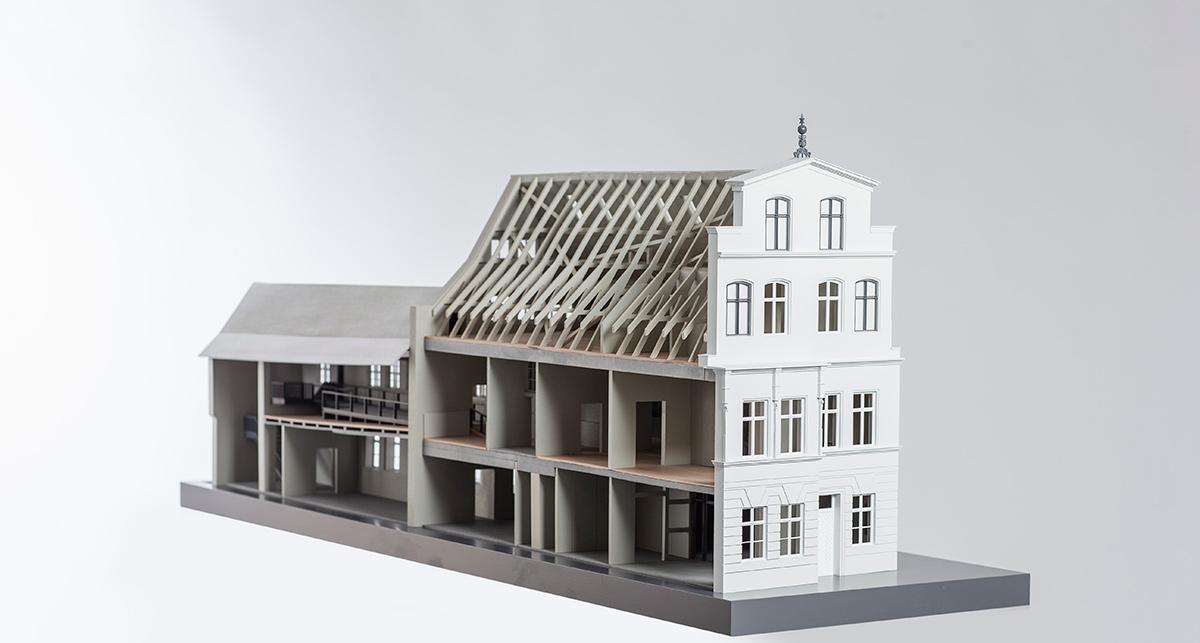 Modell Gebäude