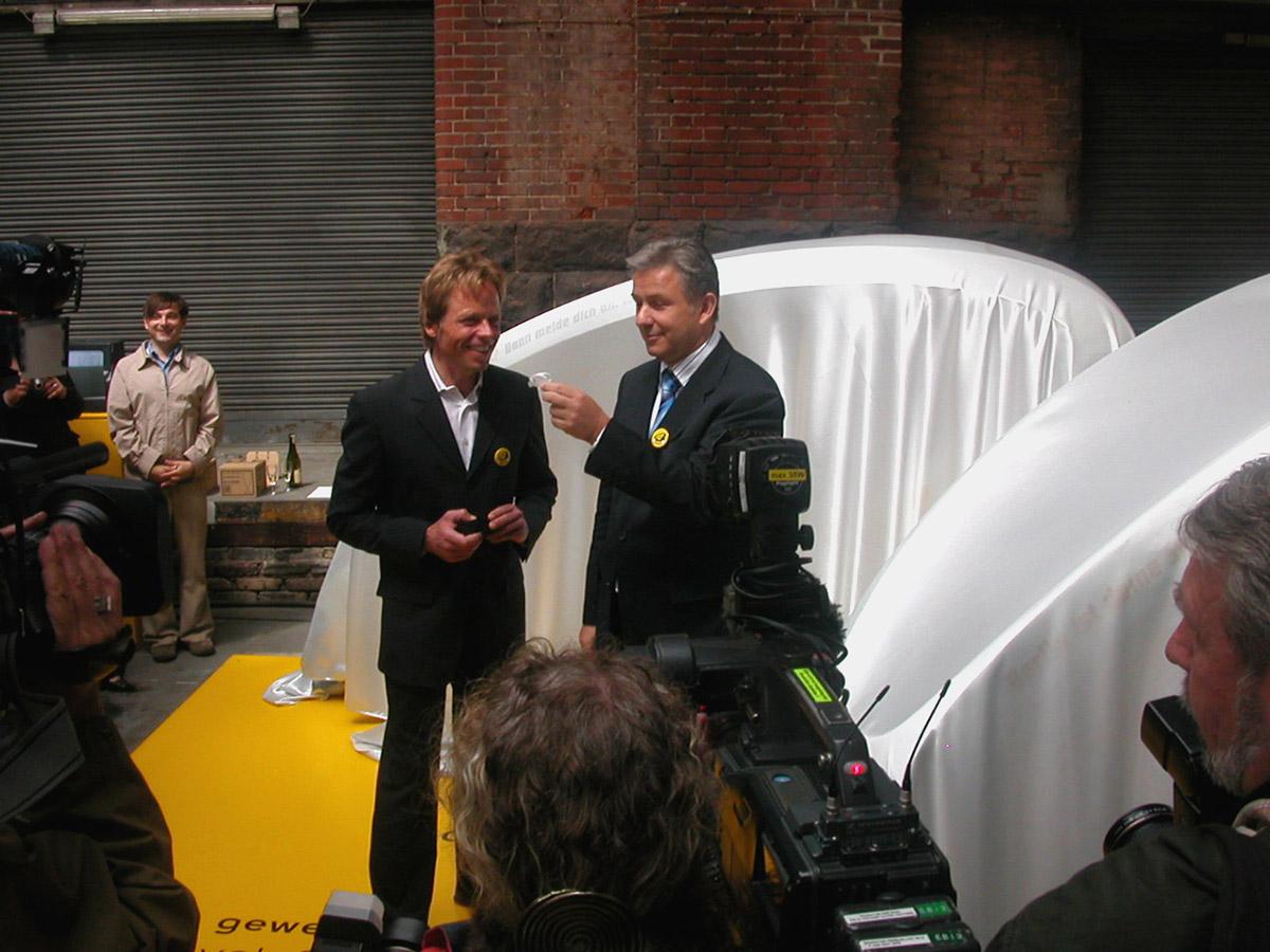 Designmai 2006: Erstpräsentation des CityCruiser II