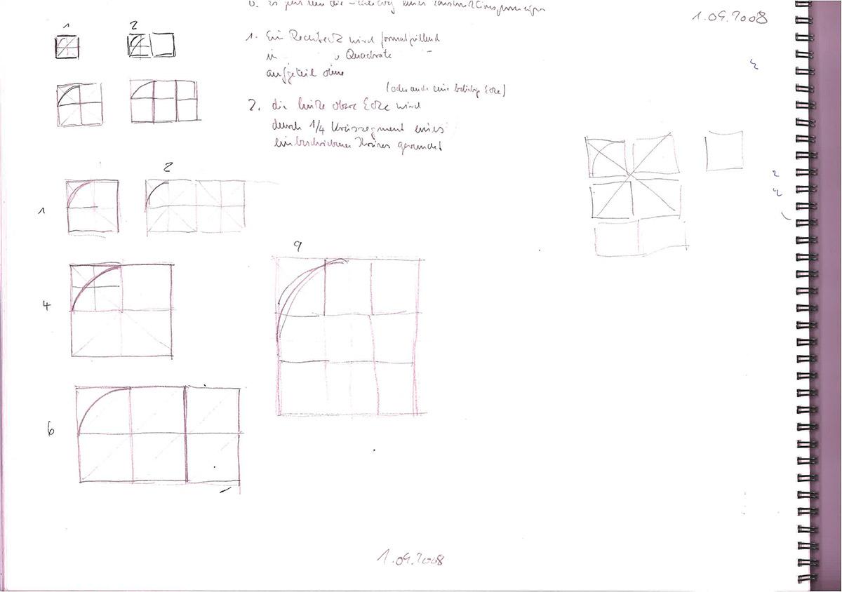 Erste Skizzen Prinzip