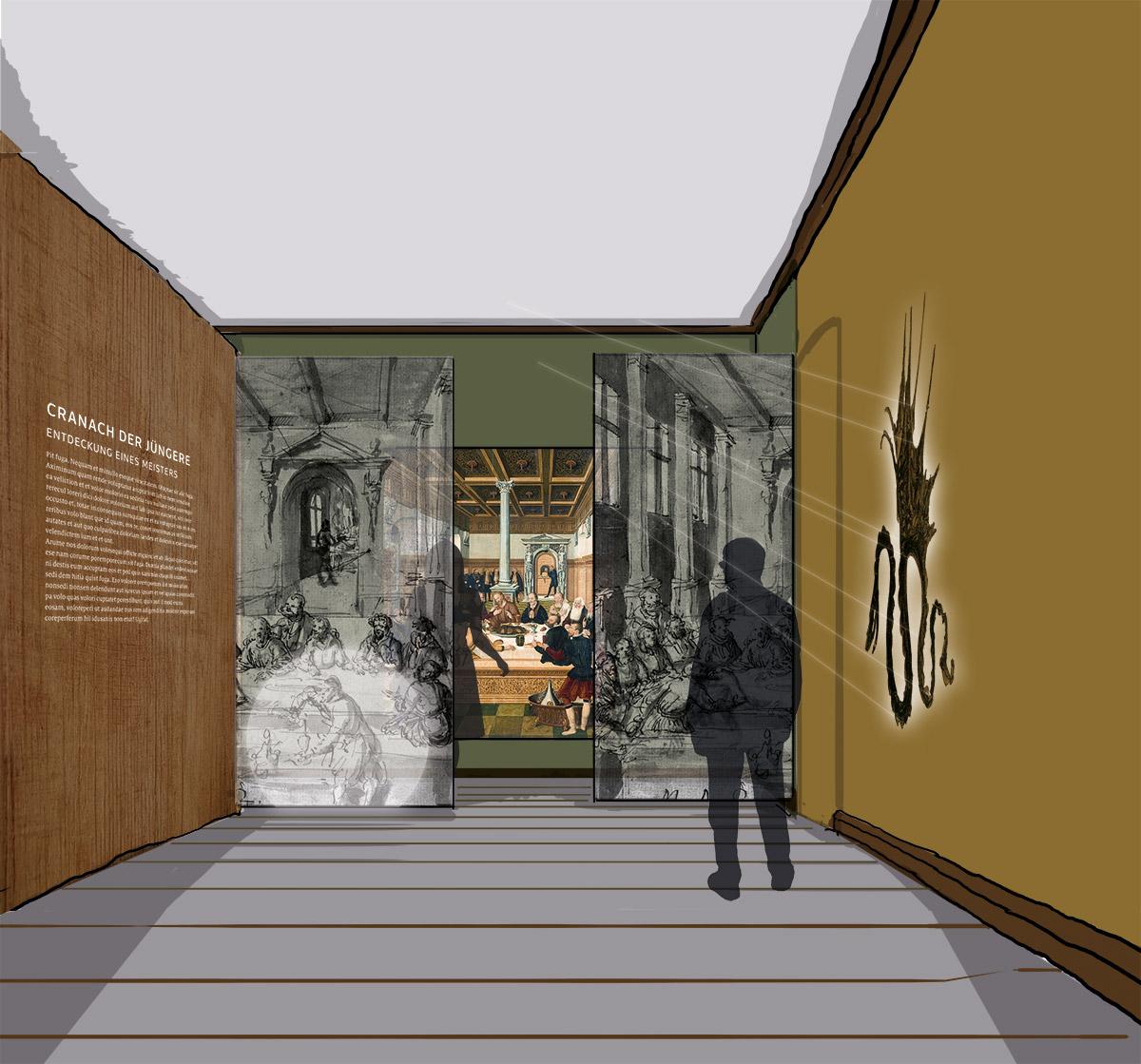 Skizze Eingangsbereich