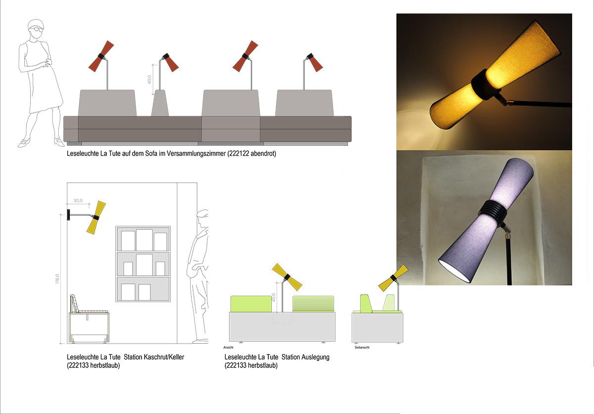 Integration Lampensystem »LaTute«