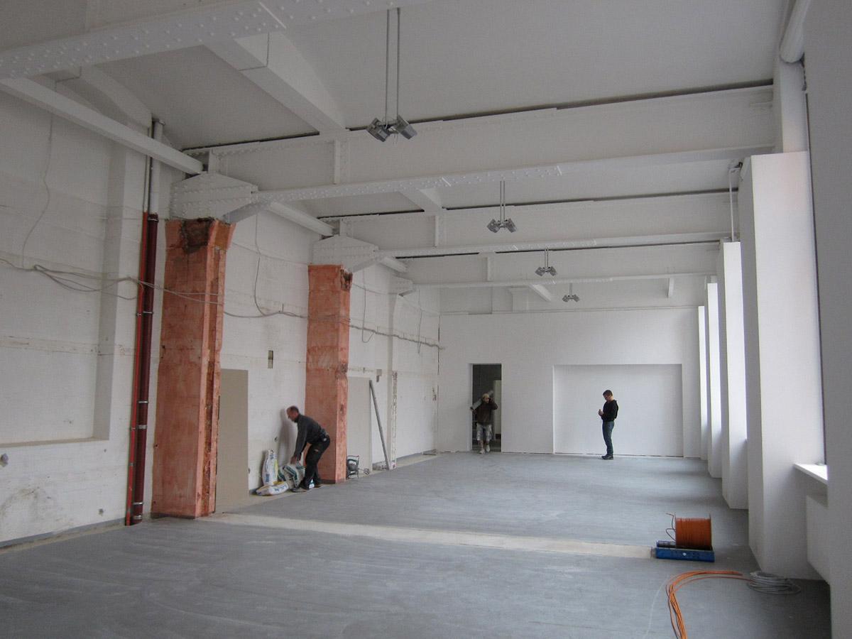 Großer  Ausstellungsraum