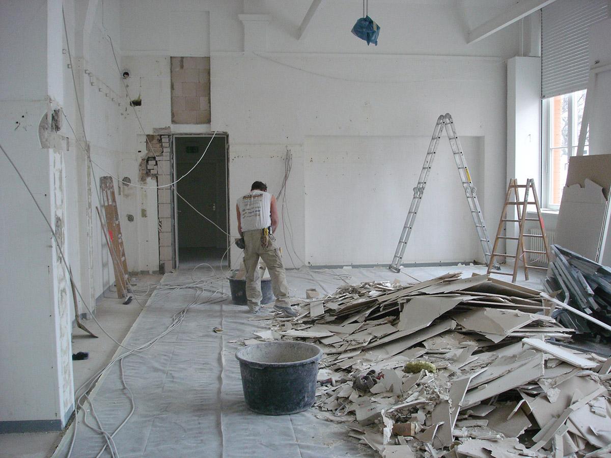 Grundsanierung der Ausstellungsräume